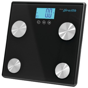 PYLE-SPORTS Bluetooth(R) Digital Weight & Personal Health Scale with Wireless Smartphone Data Transfer (Black) PHLSCBT4BK