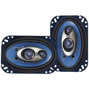 PYLE Blue Label Speakers (4 Inch. x 6 Inch. 3-way) PL463BL