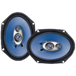 PYLE Blue Label Speakers (6 Inch. x 8 Inch. 3-way) PL683BL