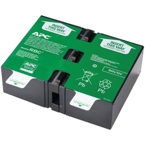 APC BY SCHNEIDER ELECTRIC Replacement Battery Cartridge #124 APCRBC124
