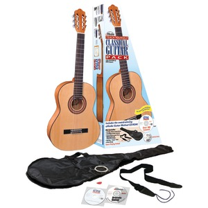 EMEDIA MUSIC Teach Yourself Classical Guitar Pack v5 with Full-Size Guitar EG07107