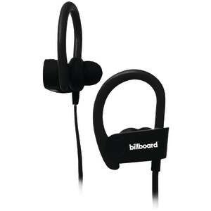 BILLBOARD Bluetooth(R) Earhook Headset with Microphone (Black) BB896