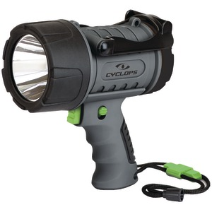 CYCLOPS 200-Lumen Rechargeable Waterproof Spotlight CYC-200WP-G