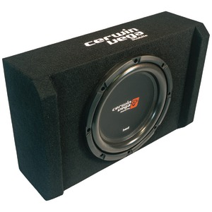 CERV HED(R) Series Subwoofer in Sealed & Shallow Mini Enclosure (10 inch.) H7SE10