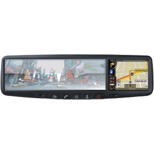 ROADGEAR RN03 3.5 inch. Mirror Monitor with Touchscreen GPS Navigation & Bluetooth(R) RN03
