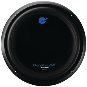 PLANET AUDIO ANARCHY Series Dual Voice-Coil Subwoofer (15 inch., 2,100 Watts max) AC15D