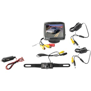 PYLE 3.5 Inch. Wireless Rearview Camera & Monitor System with Night Vision PLCM34WIR