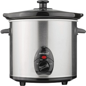 3-Quart Slow Cooker (Stainless Steel)