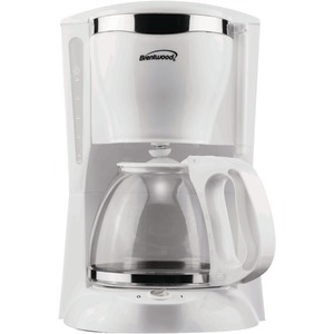 BRENTWOOD 12-Cup Coffee Maker (White) TS-216
