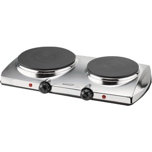 BRENTWOOD 1440-Watt Electric Double Hot Plate TS-372
