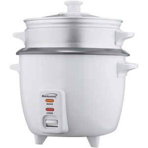 BRENTWOOD Rice Cooker with Steamer (15 Cups; 900W) TS-480S