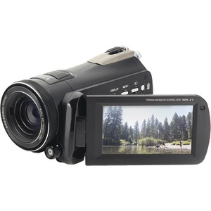 BELL+HOWELL 24.0-Megapixel Rogue 1080p HD Night-Vision Camcorder DNV24HD-BK