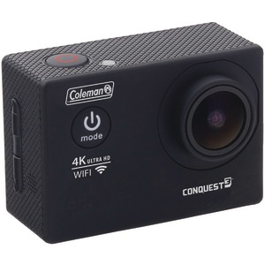 COLEMAN 16.0-Megapixel Conquest3 4K Ultra HD Wi-Fi(R) Waterproof Sports Camera Kit CX14WP