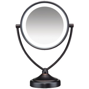 CONAIR Illuminations 1x/10x Fluorescent Vanity Mirror BE122BRAM