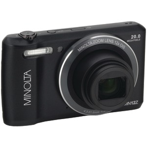 MINOLTA 20.0-Megapixel HD Wi-Fi(R) Digital Camera (Black) MN12Z-BK