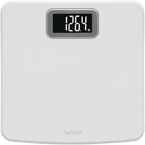 TAYLOR Bright White Digital Scale with Glass Core 73794012