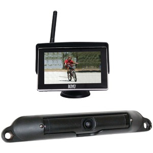 BOYO Wi-Fi High-Resolution Rearview Camera System with 4.3 Inch. LCD Monitor VTC424R