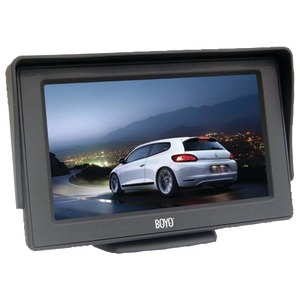 BOYO 4.3 Inch. Rearview Monitor VTM4301