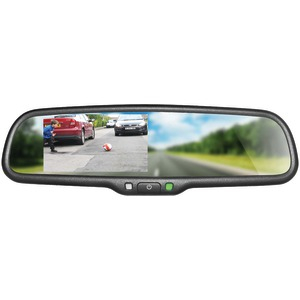 BOYO 4.3 Inch. OE-Style Replacement Rearview Mirror Monitor VTM43M