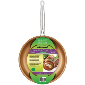 BRENTWOOD Nonstick Induction Copper Fry Pan (10 inch.) BFP-326C