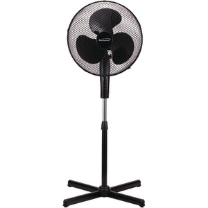BRENTWOOD KOOLZONE 16 inch. Oscillating Desk Fan (Black) F-16SMB