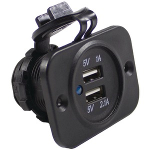BATTERY DOCTOR(R) Dual USB Charger with Indicator Light 20601