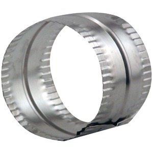 4 Inch. Aluminum Duct Connector