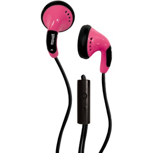 Color Buds with Microphone (Pink)