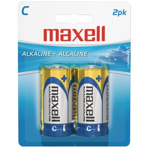 MAXELL Alkaline Batteries (C 2 pk Carded) 723320 - LR142BP