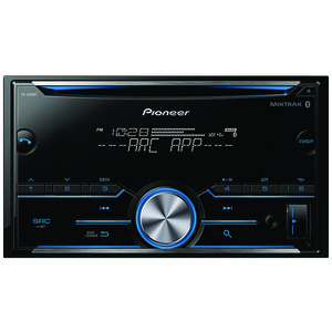 PIONEER Double-DIN In-Dash CD Receiver with Bluetooth(R) FH-S500BT