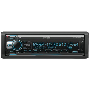 KENWOOD Single-DIN In-Dash MP3 AM/FM CD Receiver with Bluetooth(R) & SiriusXM(R) Ready KDC-BT568U