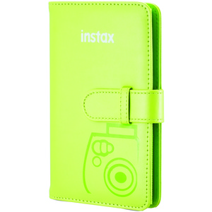 FUJIFILM Instax(R) Wallet Album (Lime Green) 600018326