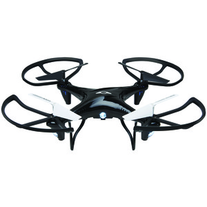 SKYRIDER Falcon 2 Pro Quadcopter Drone with Video Camera (Black) DRC377B