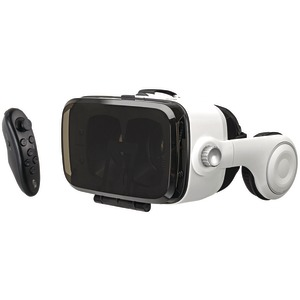 ILIVE Virtual Reality Goggles with Headphones & Bluetooth(R) Remote IVR77BDL
