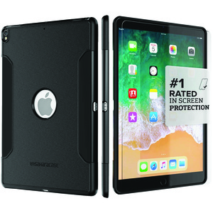 SAHARACASE Classic Protective Kit for iPad(R) 10.5 inch. (Black) C-IPD-10.5-BK