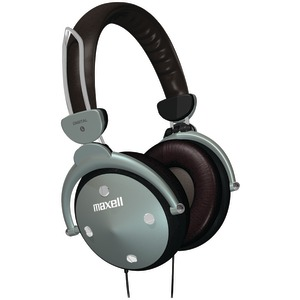 MAXELL Full-Cup Folding Digital Headphones 190562