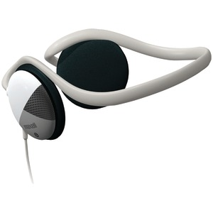 Behind-the-Neck Stereo Headphones with Swivel Ear Cups