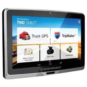 RAND MCNALLY IntelliRoute(R) 7 inch. TND(TM) Tablet 70 with Built-in Dash Cam 528014064