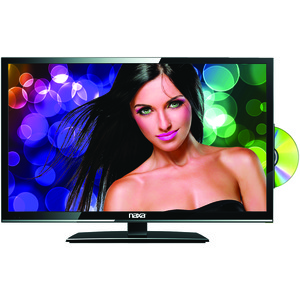 NAXA(R) 19 inch. LED TV with DVD/Media Player & Car Package NTD-1956