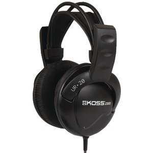 KOSS UR20 Full-Size Over-The-Ear Headphones UR20