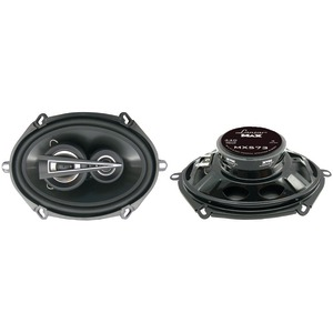 LANZAR MAX Series 3-Way Triaxial Speakers (5 Inch. x 7 Inch. 440 Watts) MX573
