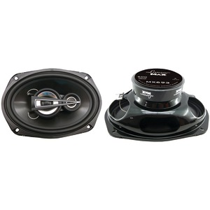 LANZAR MAX Series 3-Way Triaxial Speakers (6 Inch. x 9 Inch. 600 Watts) MX693