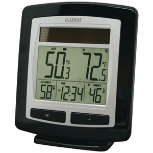 LA CROSSE TECHNOLOGY Solar Temperature & Humidity Station WS-6010U-IT-CBP