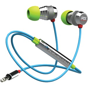MARGARITAVILLE(R) AUDIO In-Ear Monitor Headphones with Microphone (Macaw) MIX2 MACAW