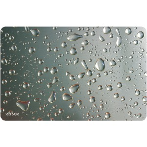 ALLSOP Widescreen Metallic Raindrop Mouse Pad 29648