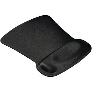 ALLSOP Ergoprene Gel Mouse Pad with Wrist Rest (Black) 30191