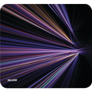 ALLSOP Mouse Pad (Tech Purple Stripes) 30600