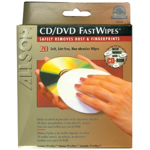 ALLSOP CD FastWipes(TM) 20 pk 50100