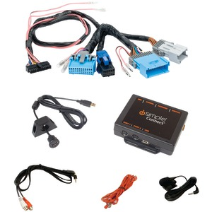 ISIMPLE DROID(TM) iPad(R)-iPhone(R)-iPod(R) & Other Smartphones Factory Radio Interface (For Select GM(R) Vehicles) ISGM655