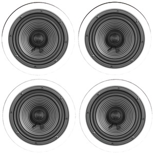 6.5 Inch. Premium Series Ceiling Speaker Contractor 4 pk